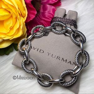 ❤️David Yurman Extra-Large Oval Link Bracelet